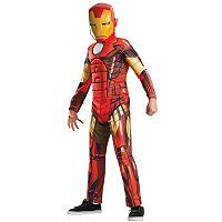 Marvel Avengers Assemble Deluxe Iron Man Costume - Kids