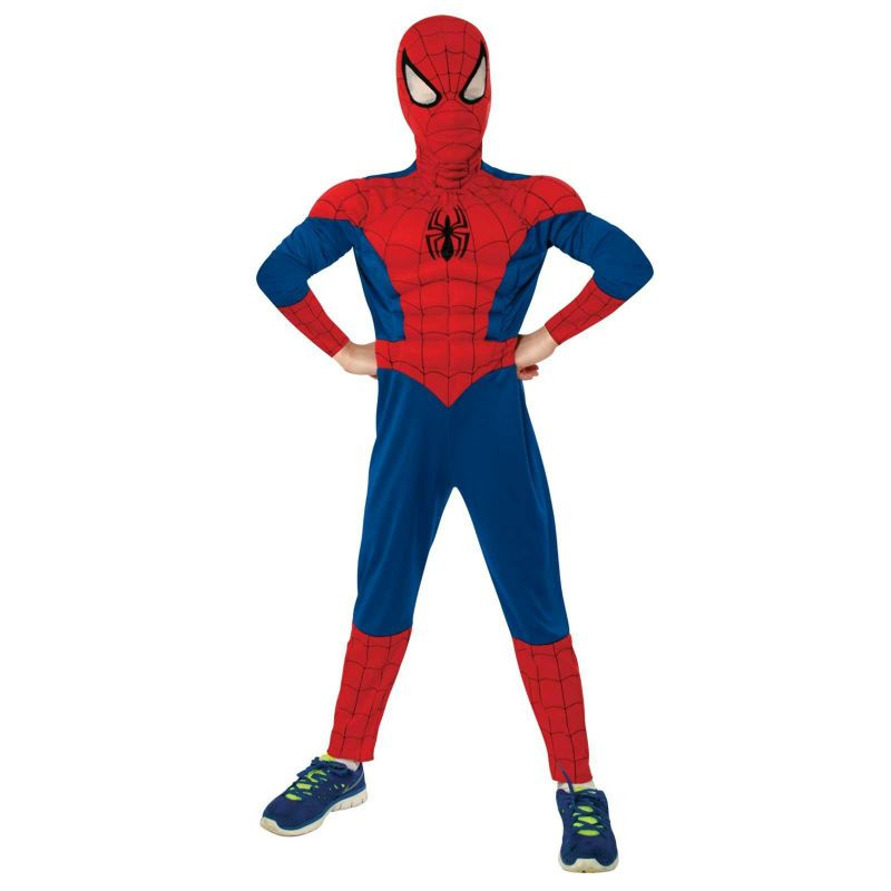 Ultimate Spider-Man Muscle Chest Child Costume Large (12-14) 95829760