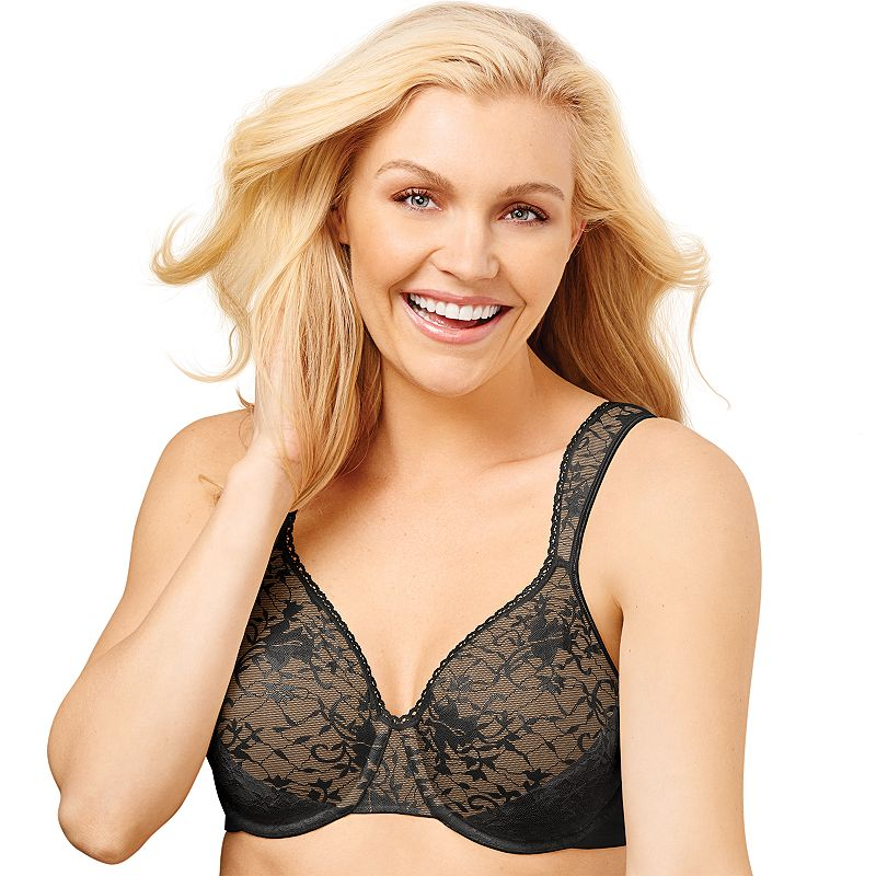 Playtex Secrets Bra: Signature Florals Gel Unlined Full-Figure Bra 4421