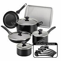 Farberware 15-Piece Color Nonstick Aluminum Cookware Set (Multiple Color)