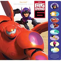Disney Big Hero 6 Play-a-Sound Book