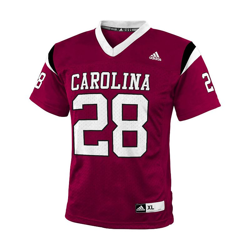 Boys 8-20 adidas South Carolina Gamecocks Replica NCAA Football Jersey