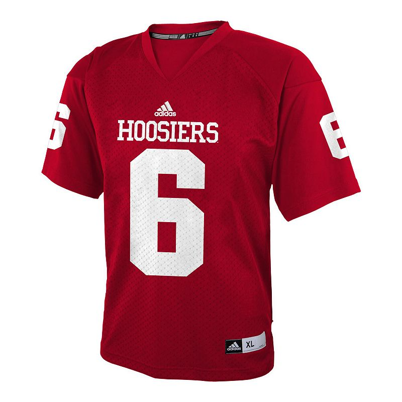 Boys 8-20 adidas Indiana Hoosiers Replica NCAA Football Jersey