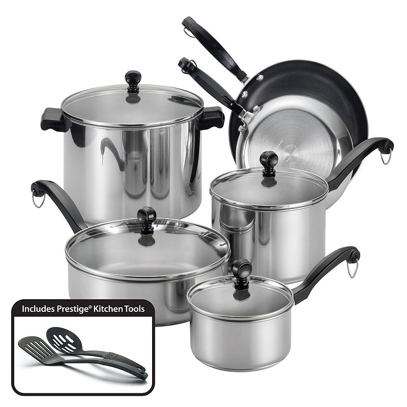 Farberware Classic Series 12-pc. Aluminum Cookware Set
