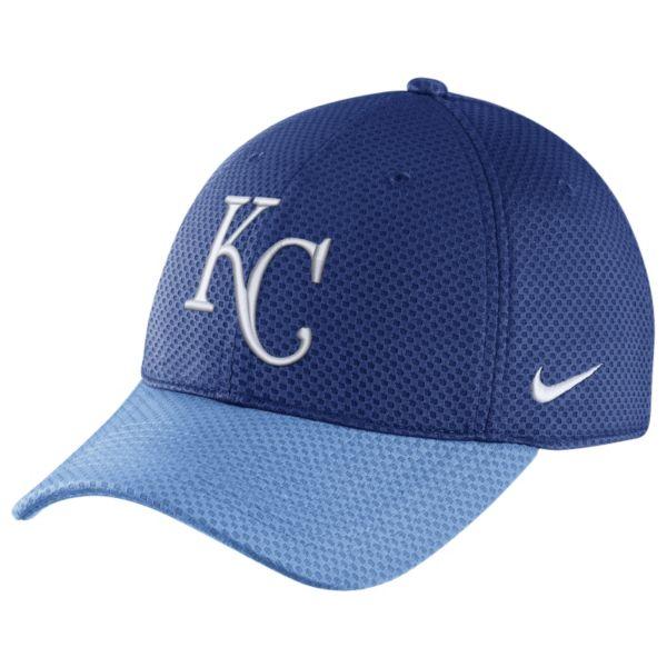 Nike Kansas City Royals Mesh Dri-FIT Adjustable Cap - Adult