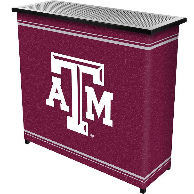 Texas A&M Aggies 2-Shelf Portable Bar with Case