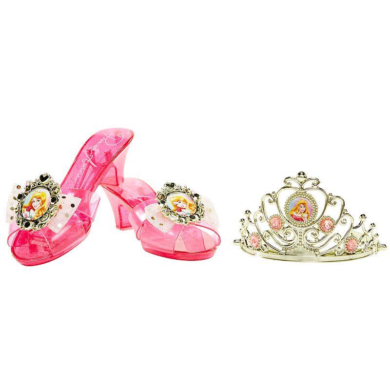 Disney Princess Aurora Enchanted Evening Tiara and Shoe Set