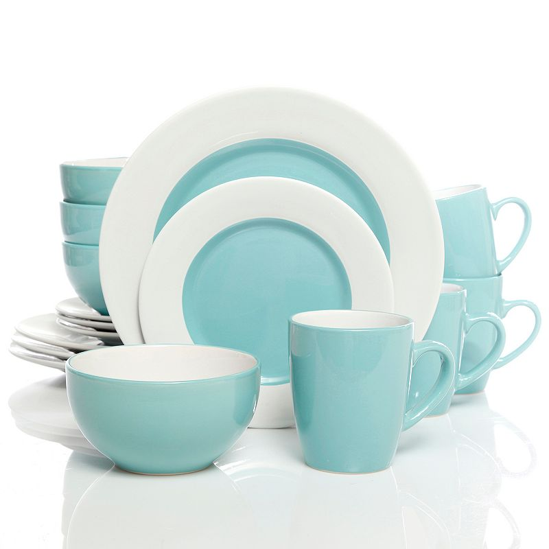 Gibson Home Style Deluxe 16 pc Dinnerware Set
