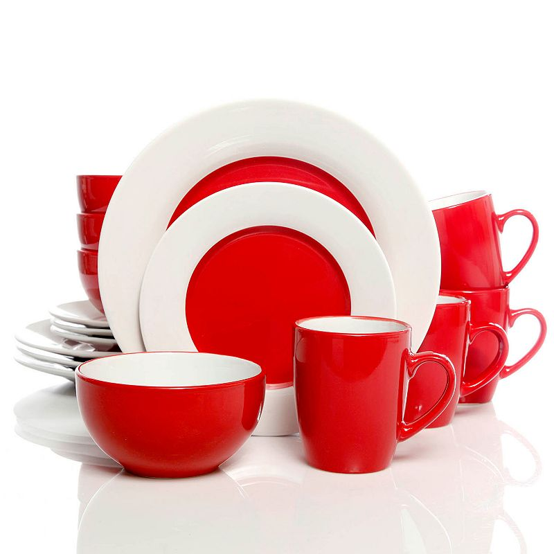 Gibson Home Style Deluxe 16-pc. Dinnerware Set
