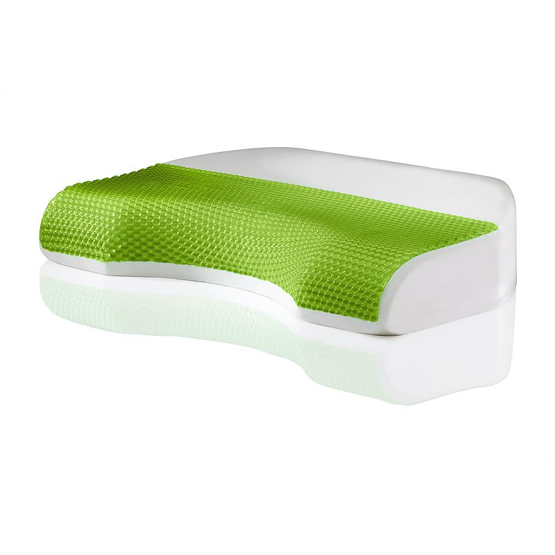 Dream Therapy Body Cove Hydraluxe Gel Memory Foam Pillow