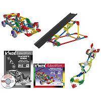 K'NEX Education Intro to Simple Machines: Wheels, Axles & Inclined Planes Kit
