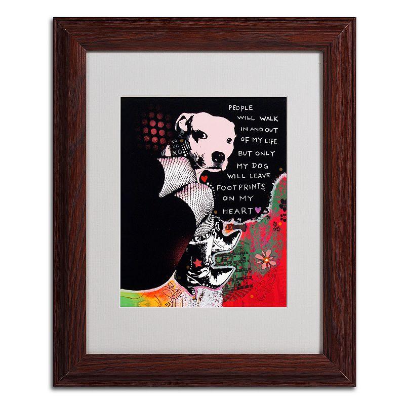 Kohls Coffee Wall Decor : Girl s best friend  framed canvas wall art