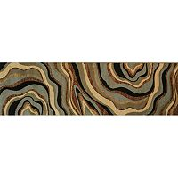 Infinity Home Barclay Nirvana Waves Rug Runner - 2'7'' x 9'10''