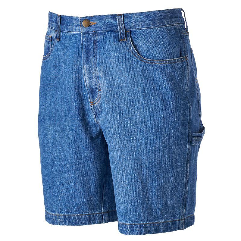 Men's Croft & Barrow® Denim Carpenter Shorts