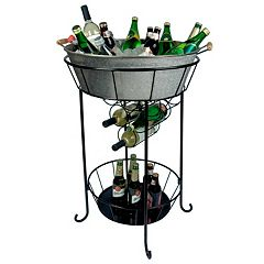 Artland Oasis Galvanized Party Station by