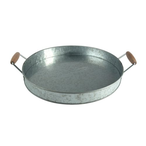 Artland Oasis Galvanized Party Tray