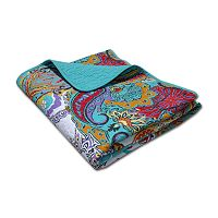 Nirvana Quilted Reversible Throw