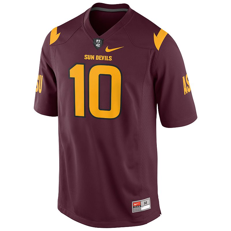 Men's Nike Arizona State Sun Devils Replica NCAA Football Jersey