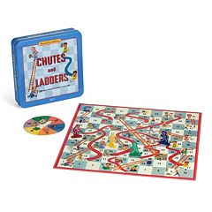 Chutes and Ladders Nostalgia Tin by Hasbro by
