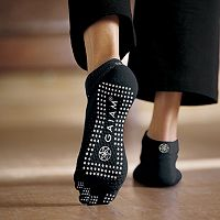 Gaiam Grippy Yoga Socks - Small/Medium
