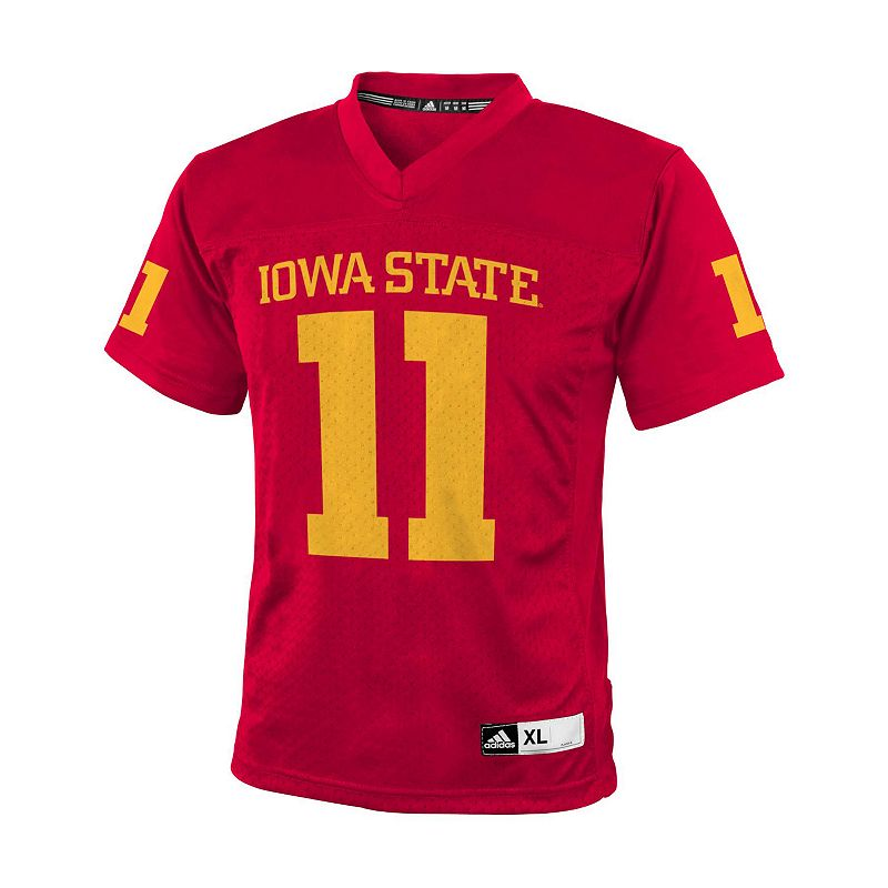 Boys 8-20 adidas Iowa State Cyclones Replica NCAA Football Jersey
