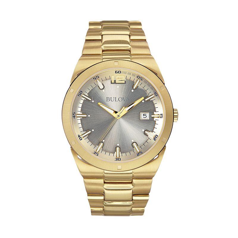 Bulova mens luminous watch kohl 39 s for Watches kohls