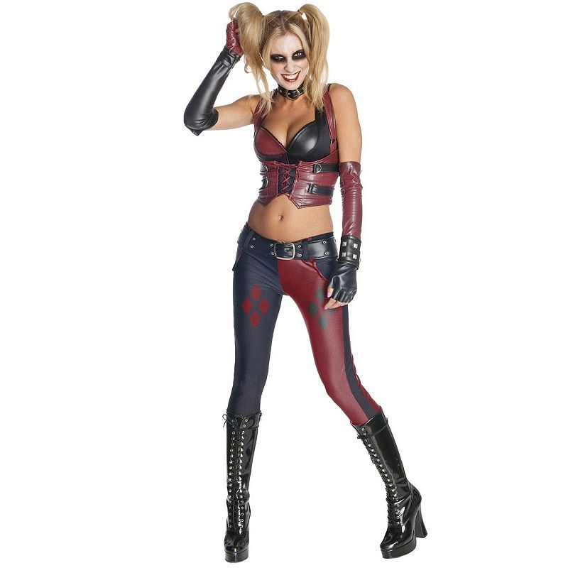 Batman Arkham City Secret Wishes Harley Quinn Costume - Adult