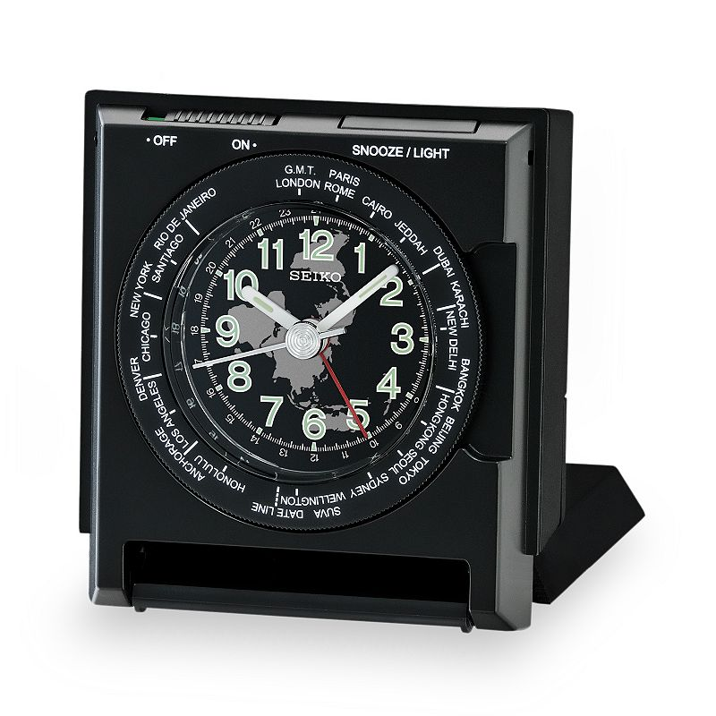 Seiko World Time Travel Alarm Clock