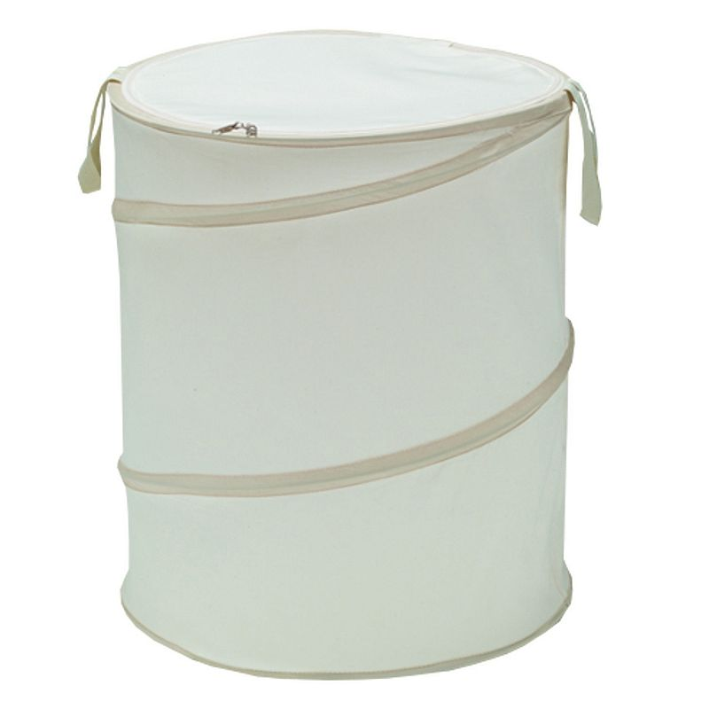W.C. Redmon The Original Bongo Bag Pop-Up Canvas Laundry Hamper