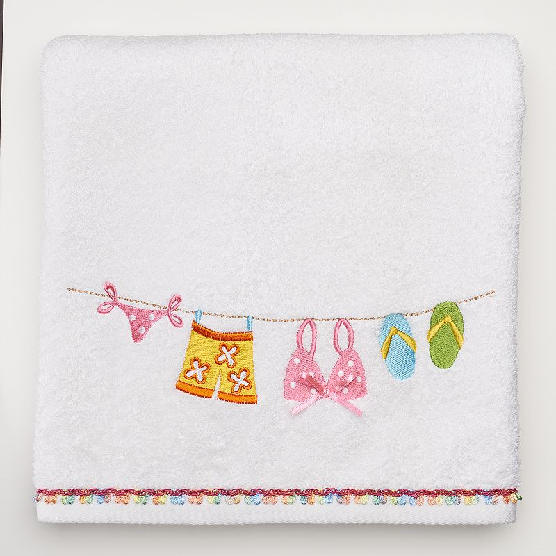 Hanging Loose Bath Towel