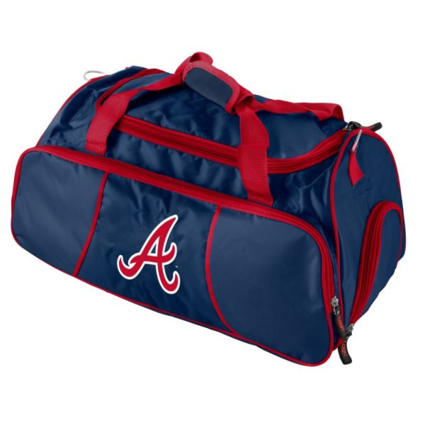 Logo Brand Atlanta Braves Athletic Duffel Bag