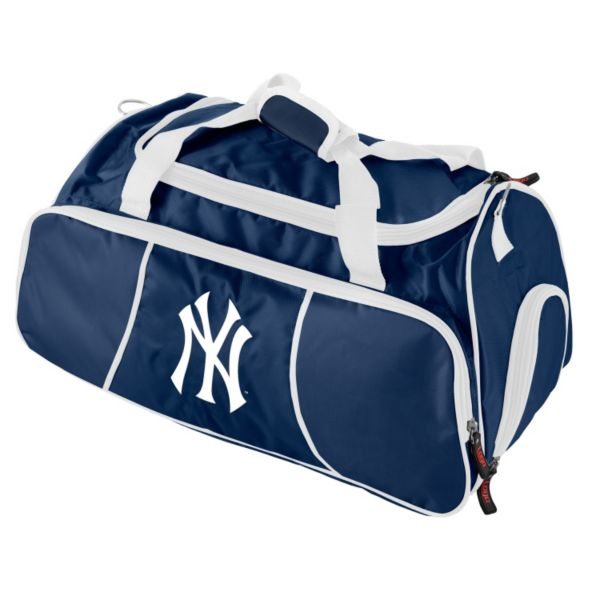 Logo Brand New York Yankees Athletic Duffel Bag