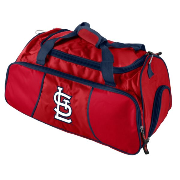 Logo Brand St. Louis Cardinals Athletic Duffel Bag