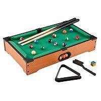 Mainstreet Classics Table Top Billiards Game Set