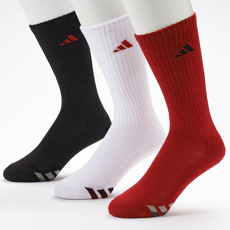 Men's adidas 3-Pack Climalite Crew Performance Socks