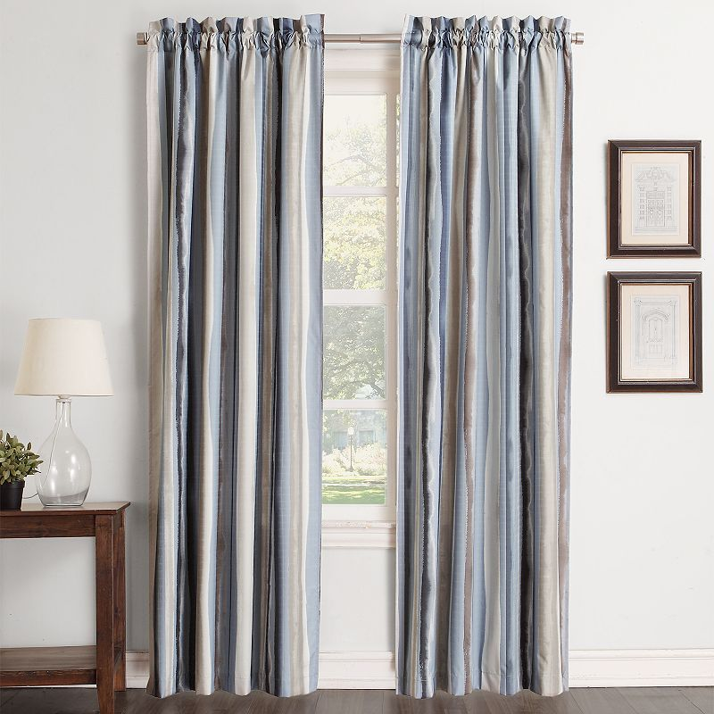 Striped Polyester Curtains