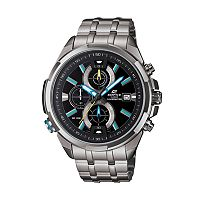 Casio Men's EDIFICE Neon Illuminator Stainless Steel Chronograph Watch (EFR536D-1A2V)