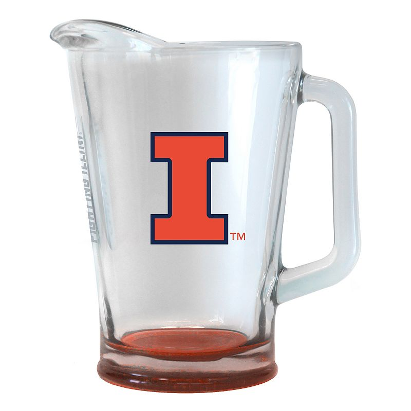 Illinois Fighting Illini Elite Glass Pitcher