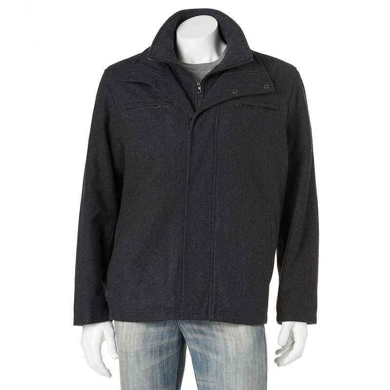Towne by London Fog Wool-Blend Hipster Jacket - Men