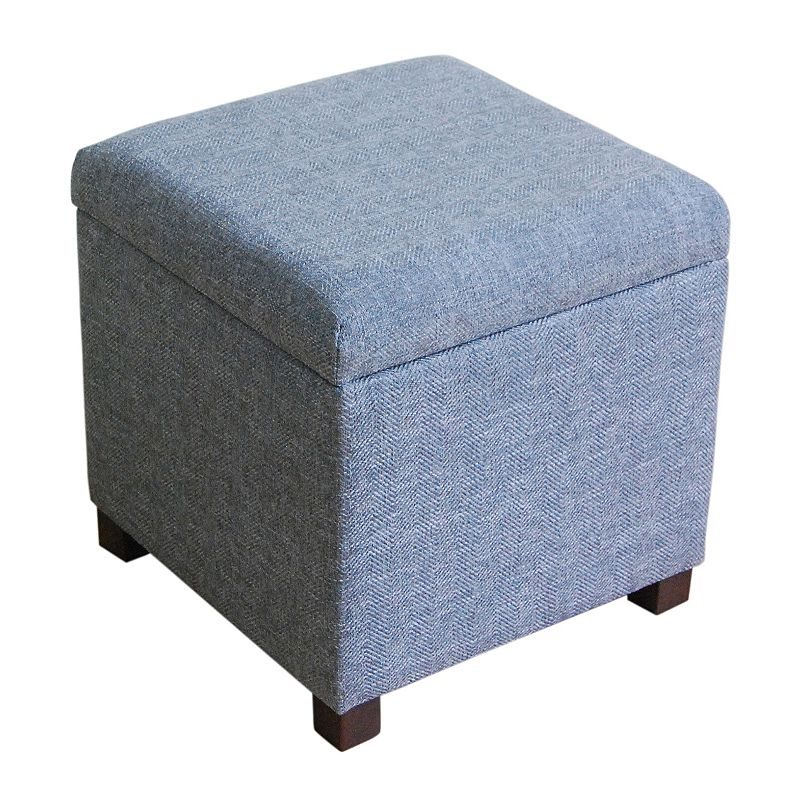 Cushioned imported ottoman kohl 39 s for Porte ottoman