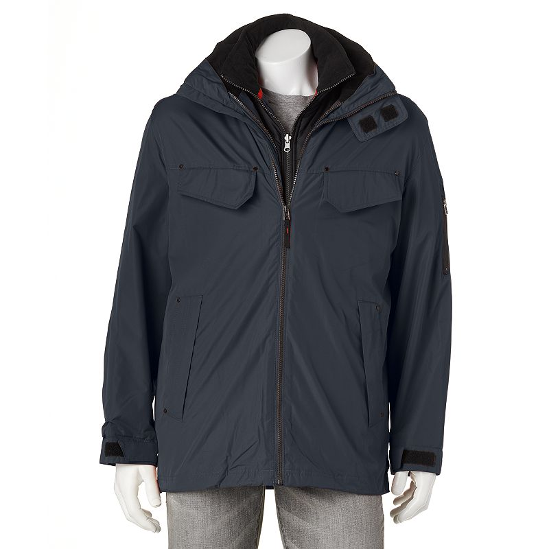 Towne by London Fog Anorak 3-in-1 Systems Jacket - Men