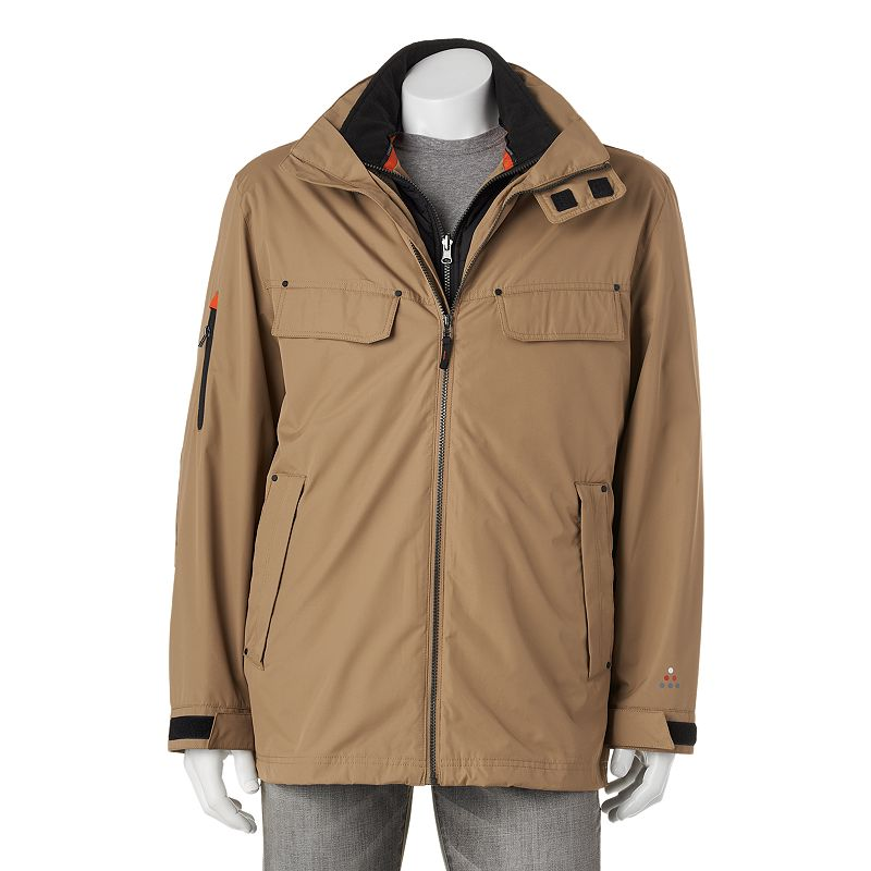 Big & Tall FOG by London Fog 3-in-1 Systems Field Coat