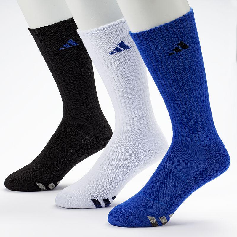 Men's adidas 3-Pack Climalite Crew Performance Socks