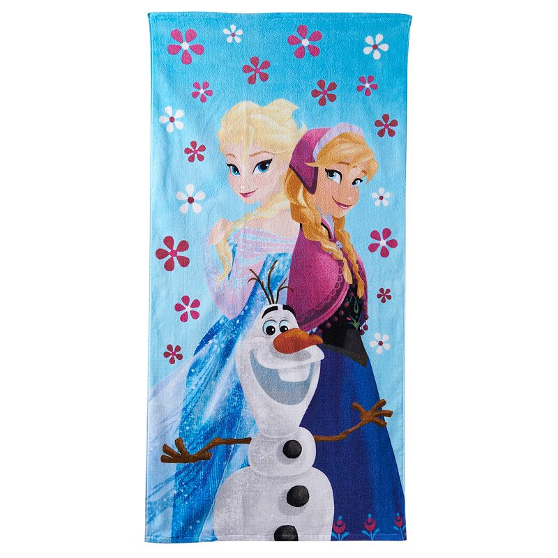 Disney's Frozen Celebrate Summer Beach Towel