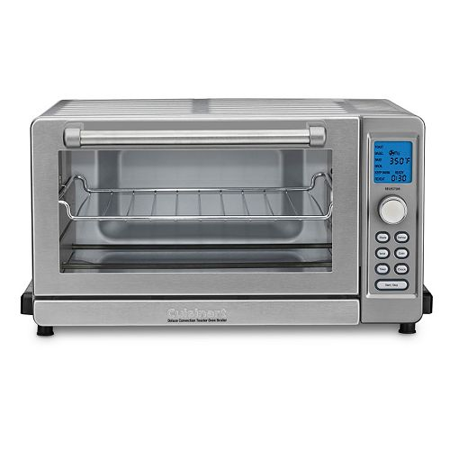 Countertop Convection Ovens On Sale : Cuisinart Deluxe Convection Toaster Oven Broiler