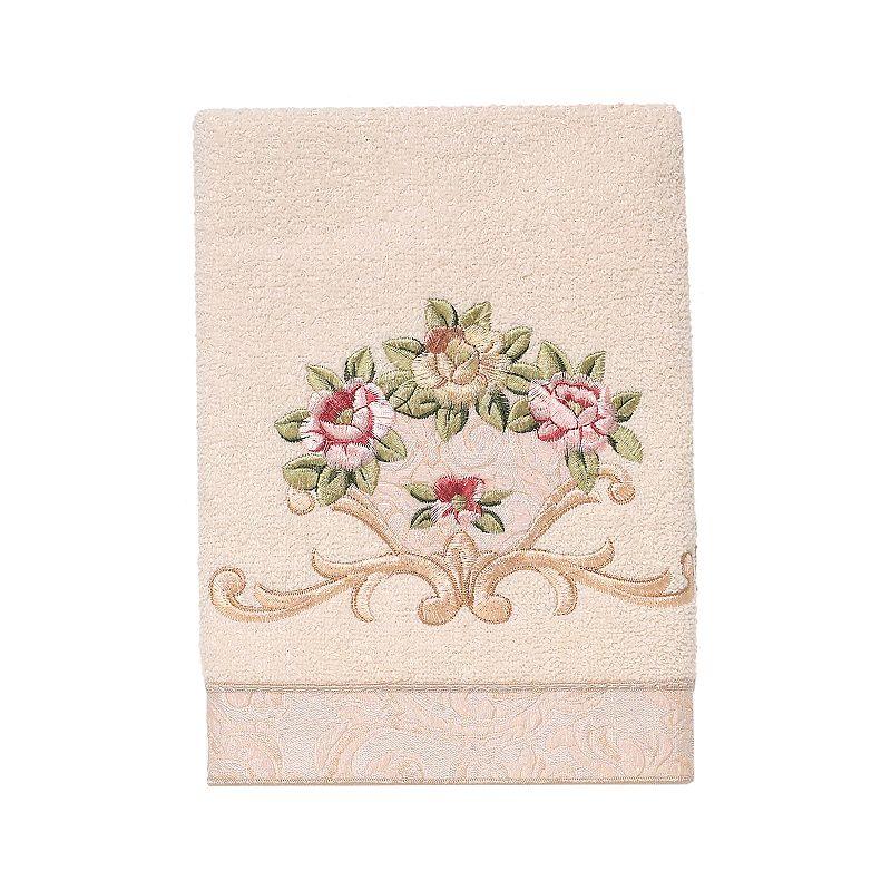 Avanti Rosefan Hand Towel