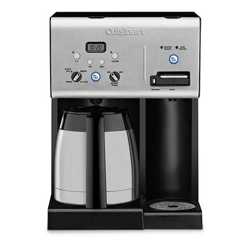 Cuisinart 12 Cup Coffee Maker With Hot Water System Black : Cuisinart 10-Cup Programmable Coffee Maker with Hot Water System, Black Price Tracking