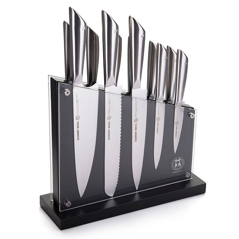 Schmidt Brothers Tapered Steel 12-pc. Cutlery Set