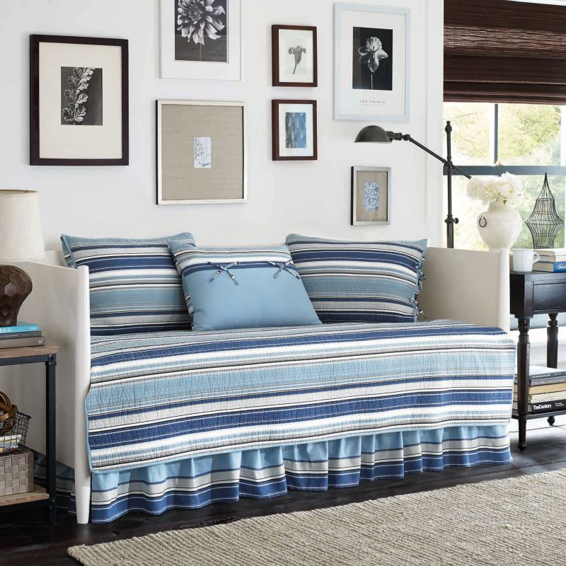 Blue Striped Bedding Kohl S