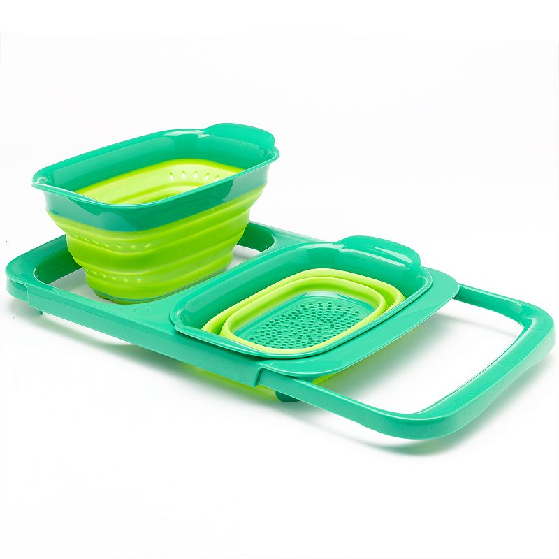 Squish 2-pc. Collapsible Colander